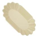 金時代書香咖啡 CafeDe Tiamo 陶瓷橢圓形生豆盤 - 米黃色 HG9285