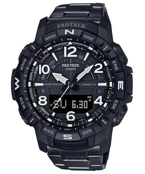 附發票 實體店面 CASIO 卡西歐 藍芽 登山錶 溫度/高度/氣壓/羅盤/計算步數 PRT-B50YT-1 公司貨