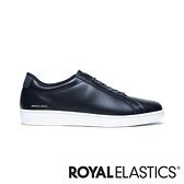 ROYAL ELASTICS Lume 黑色真皮運動休閒鞋 (女) 95012-999
