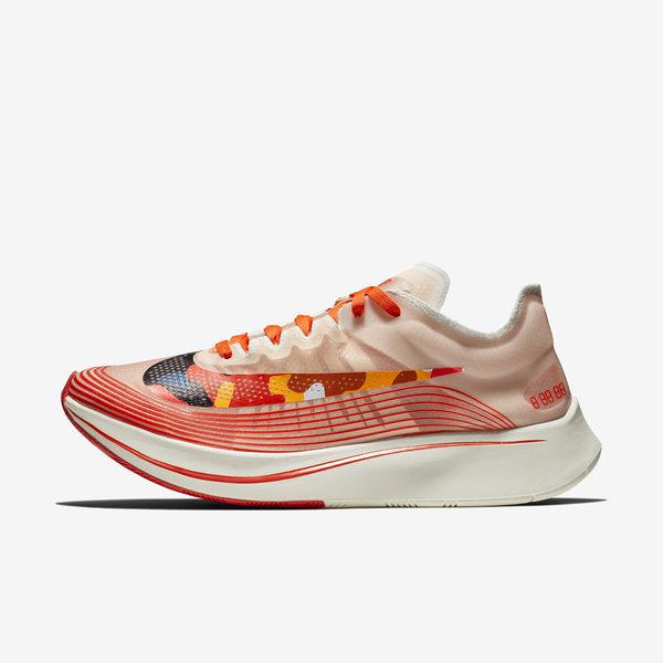 Nike Zoom Fly SP [AJ9282-800] 男鞋 慢跑 馬拉松 路跑 輕量 避震 貼合 訓練 氣墊 橘黑