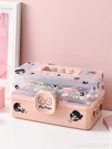 首飾盒 兒童發飾收納盒女孩寶寶發夾皮筋頭飾發卡整理梳妝神器可愛首飾盒 星河光年