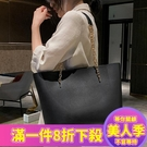手提包女包包女新款秋冬韓版百搭單肩大包大容量簡約托特包鏈條手提包