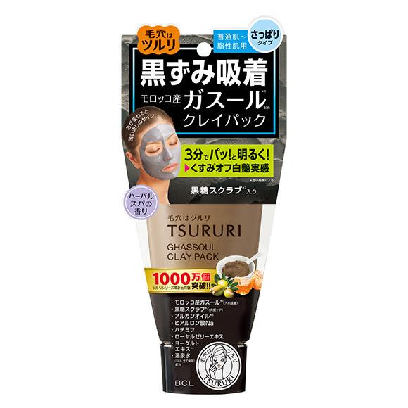 日本TSURURI 黑頭吸取滋潤碳酸面膜 150g