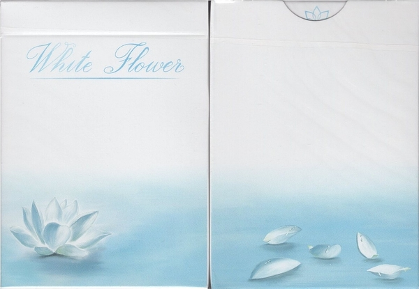 【USPCC 撲克】White Flower Playing Cards