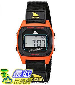 [106美國直購] Freestyle 手錶 Unisex 102244 B00BK287XO Shark Fast Strap Retro 80 s Digital Black and Red Watch