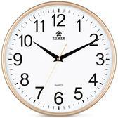 掛鐘 霸王鐘錶掛鐘客廳家用現代簡約大氣創意掛錶靜音臥室電子石英時鐘 LP