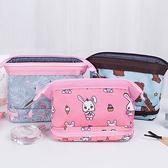 ✭慢思行✭【A013】立體雙層鋼架化妝包 收納袋 旅遊 多夾層 補妝 出差 大容量 多功能 洗漱袋 分類