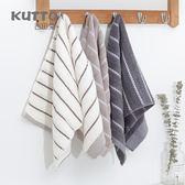 水波紋成人洗臉毛巾加厚 柔軟吸水時尚毛巾【快速出貨八折一天】