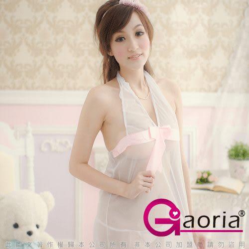 VIVI情趣用品專賣店 性感睡衣 情趣商品 情趣睡衣Gaoria白皙美人 柔紗性感睡襯衣