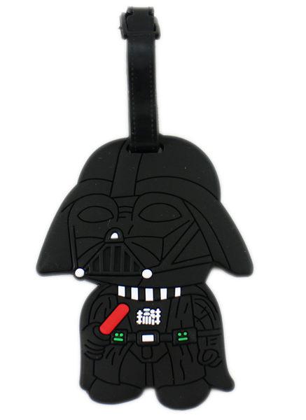 【卡漫城】 星際大戰 行李吊牌 黑武士 名牌套 行李箱 書包 識別 姓名 掛牌 背包 吊飾 Star Wars 原力