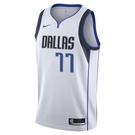 Nike DAL SWGMN JSY 20 NBA球衣 背心 CW3588109 白 DONCIC【iSport愛運動】