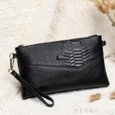 手拿包女2020新款韓版大容量手抓包斜背包/側背包時尚小包包女士手包 漾美眉韓衣