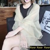 【YPRA】絲巾-長款防曬桑蠶絲絲巾晚禮服披肩兩用