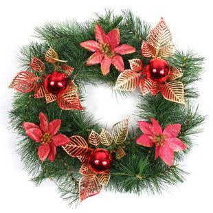 聖誕松針環
