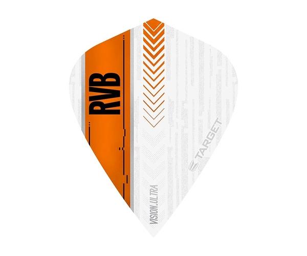 【TARGET】VISION ULTRA KITE RVB White x Orange 332030 鏢翼 DARTS