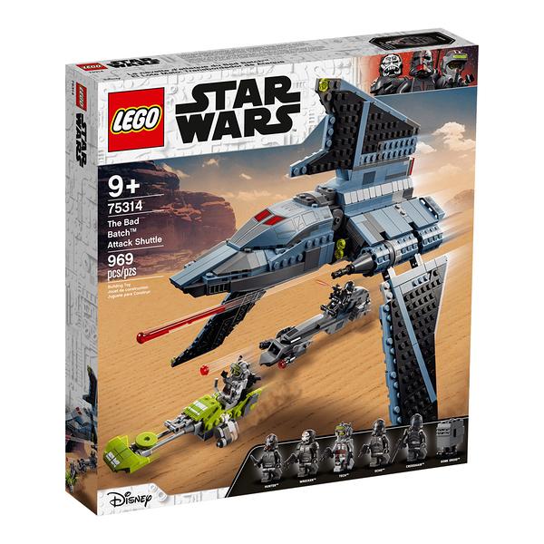 樂高積木LEGO《 LT75314 》STAR WARS™ 星際大戰系列 - The Bad Batch Attack Shuttle / JOYBUS玩具百貨