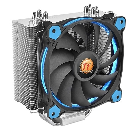 【超人百貨F】曜越 Riing Silent 12 CPU散熱器 (藍光) CL-P022-AL12BU-A