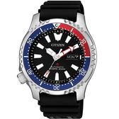 【台南 時代鐘錶 CITIZEN】星辰 Promaster 兩百米潛水錶機械錶 NY0088-11E 限量款 橡膠帶 42mm