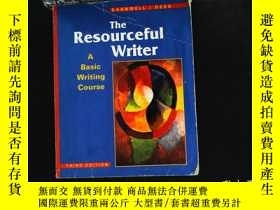 二手書博民逛書店Resourceful罕見Writer Resourceful