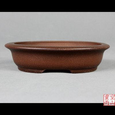 陶瓷花盆/橢圓形/紫砂