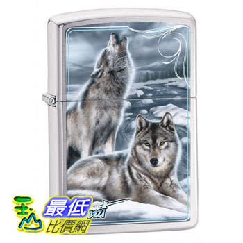 [104 美國直購] Zippo Mazzi-Winter Brushed Chrome Lighter 打火機 _T01