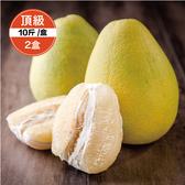 【鮮食優多】清泉 麻豆30年老欉頂級文旦10斤裝2盒(好評預購中!!30年老欉,柚香多汁)