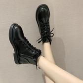 靴子秋季顯腳小馬丁靴女夏季加絨潮新款英倫風網紅瘦瘦短靴子