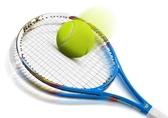 網球拍初學套裝碳素