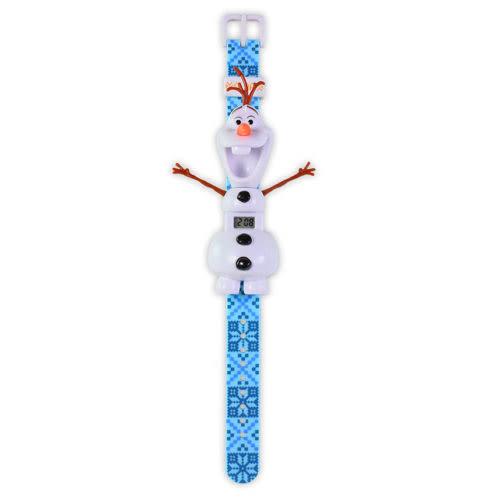 冰雪奇緣雪寶造型手錶/ MAGIC WATCH/ 立體/ LED顯示/ 兒童手錶