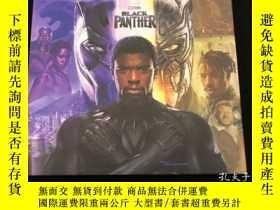 全新書博民逛書店電影藝術設定集Marvel s Black Panther: The Art of the Movie 漫威 黑豹