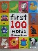 【書寶二手書T7/少年童書_GC6】First 100 Words_Priddy Bicknell Books (COR)