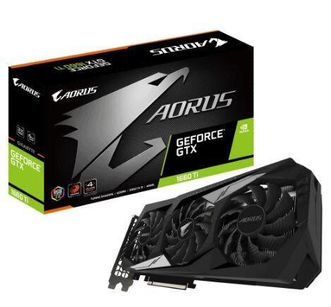 技嘉 AORUS GeForce GTX 1660 Ti 6G (GV-N166TAORUS-6GD)【刷卡分期價】