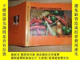 二手書博民逛書店mre.lee,s罕見cookbookY13681 MRS.LE