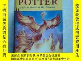 二手書博民逛書店英文原版HARRY罕見POTTER and the order of the phoenix(精装带书衣)Y2