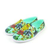 native VERONA 懶人鞋 洞洞鞋 防水 雨天 輕 綠色 花 男鞋 女鞋 11101801-8091 no297