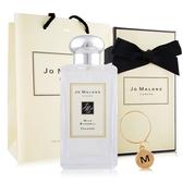 Jo Malone橙花香水100ml含外盒+緞帶+提袋+字母吊飾