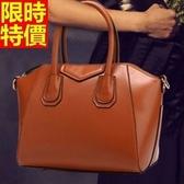 手提包-真皮華麗經典女性魅力側背女包包8色68m13[巴黎精品]