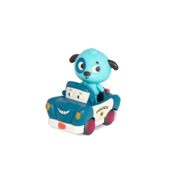 《 美國 B.toys 感統玩具 》迷你車長 - 沃菲與羅力 / JOYBUS玩具百貨