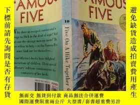 二手書博民逛書店Five罕見On A Hike Together:五個人一起遠足..Y200392