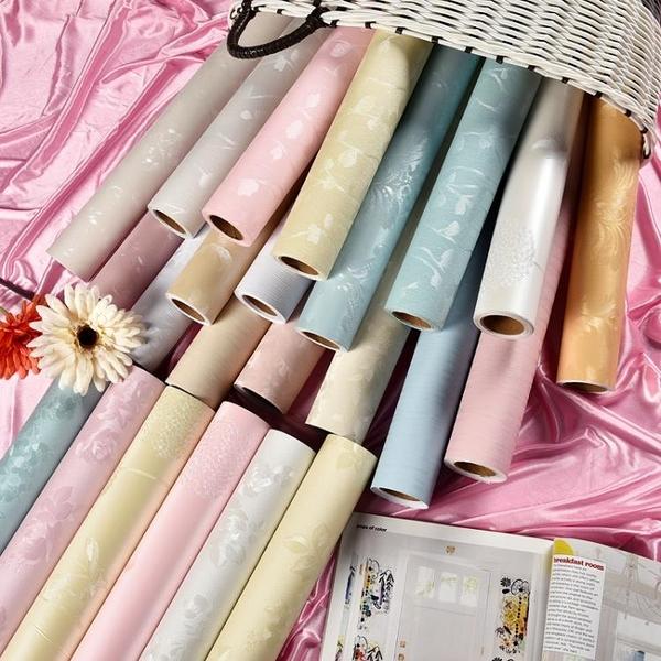 環保墻紙自粘臥室溫馨背景墻