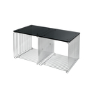 Montana 34.8x70cm 潘頓系列 線條 方形壁櫃 專用配件 - 檯面桌板(雙格櫃 櫃深 38 cm 專用) - 玻璃桌面