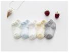 【韓風童品】(5雙/組)夏季透氣網眼短襪 男童女童網眼襪子 薄棉襪 兒童淺口襪 細波浪圖案船襪