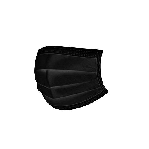 宏瑋 醫療口罩 雙鋼印 單色 黑 成人用 50片/盒 台灣製造