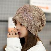 月子帽夏季薄款孕產婦帽子女韓版套頭帽女防風春秋頭巾帽產後用品     西城故事