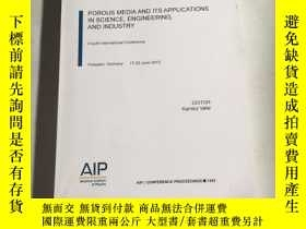 二手書博民逛書店porous罕見media and its applicaions lnscience engieering an