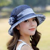 帽子女夏天遮陽帽韓版潮可折疊太陽帽