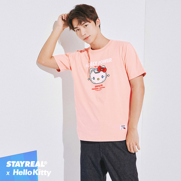 STAYREAL x HELLO KITTY 指揮艇凱蒂T