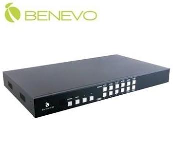 【超人生活百貨】現貨+預購*免運 BENEVO UltraVideo 專業型 BHS441SQ 4進1出 HDMI畫面分割切換器