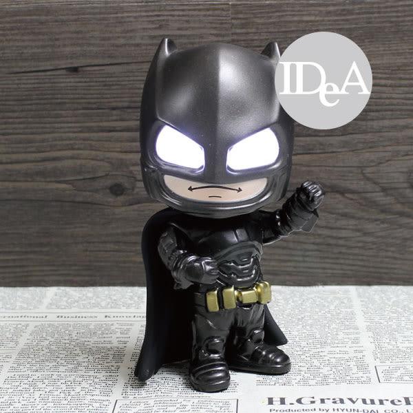 Q版蝙蝠俠 觸控發光公仔 蝙蝠俠對超人:正義曙光 正義聯盟 模型 美國隊長3: 英雄內戰 黑暗騎士