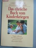 【書寶二手書T9/保健_GFH】Das ehrliche Buch vom Kinderkriegen_Christin